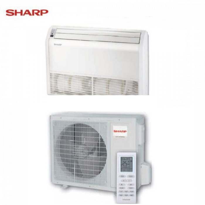 SHARP SOFFITTO/PAVIMENTO INVERTER SERIE SMILE CURVE SR GS-X24SR 24000 BTU