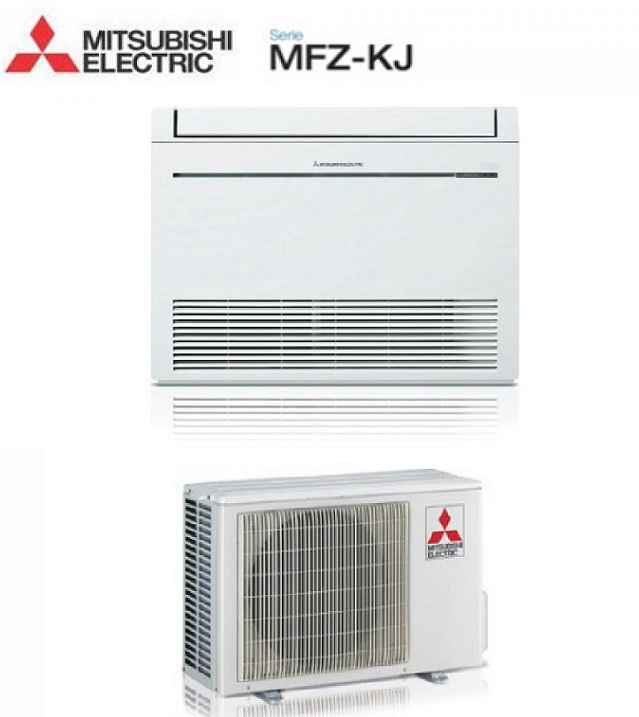 MITSUBISHI ELECTRIC INVERTER PAVIMENTO MFZ-KJ25VE 9000 BTU