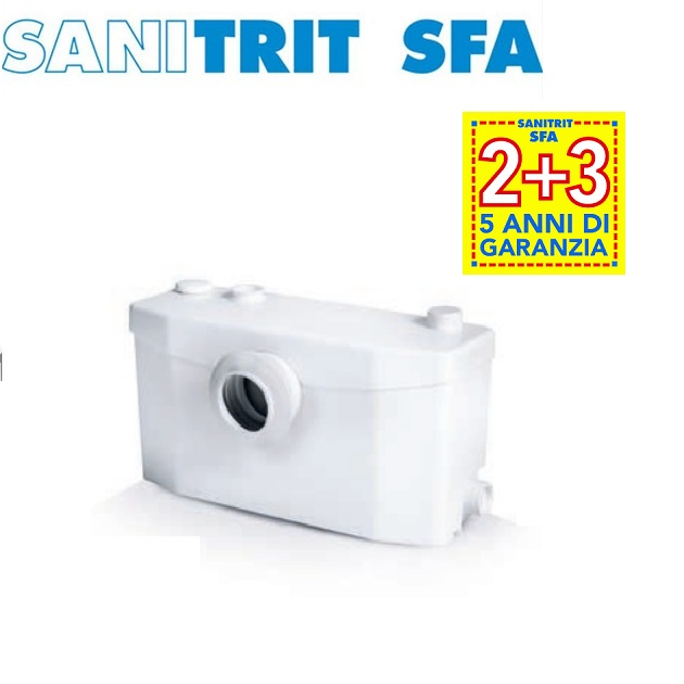 TRITURATORE Marca SFA SANITRIT modello SANIPLUS UP - NEW