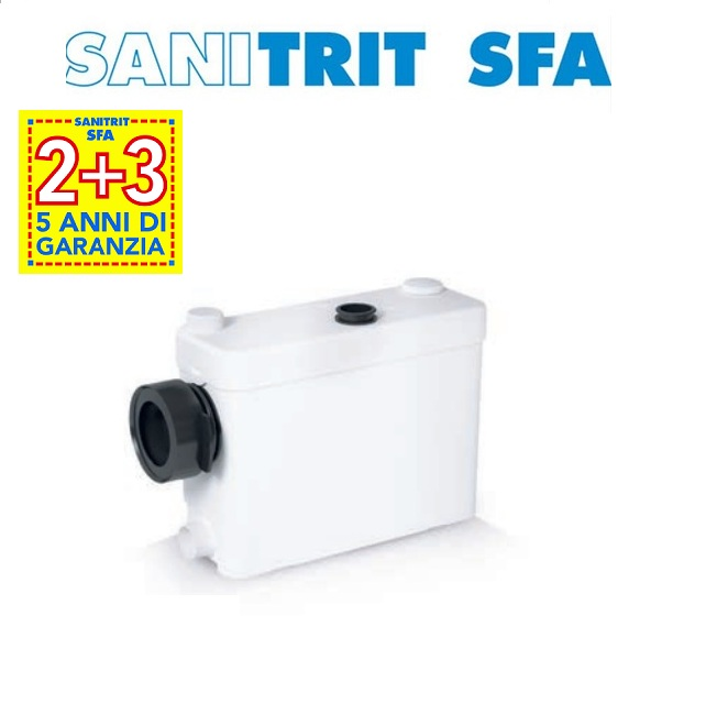 TRITURATORE DA INCASSO Marca SFA SANITRIT modello SANIPACK PRO UP - NEW