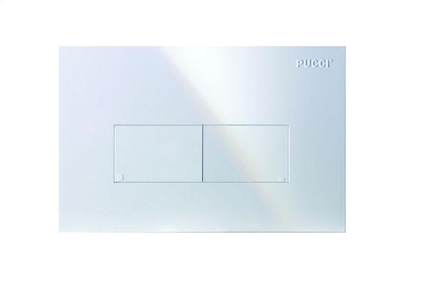 Pucci placca di comando modello: eco linea 80000560 con 2 pulsanti