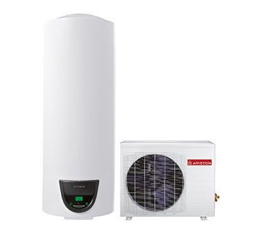 SCALDABAGNO A POMPA DI CALORE ARISTON NUOS SPLIT 200 WH con accumulo di 200 lt - NEW ErP