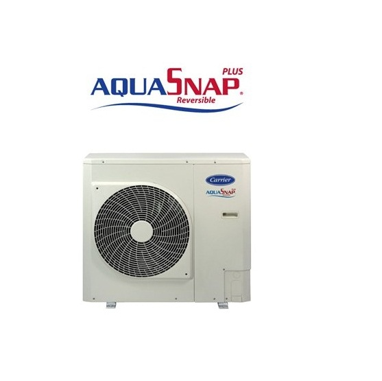 POMPA DI CALORE REFRIGERATORE MINI CHILLER CARRIER AQUASNAP PLUS INVERTER 8 KW 30AWH008HD