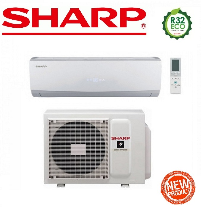 SHARP HI-WALL INVERTER A++ serie USR 9000 btu AY-X9USR R-32 - NEW 2017