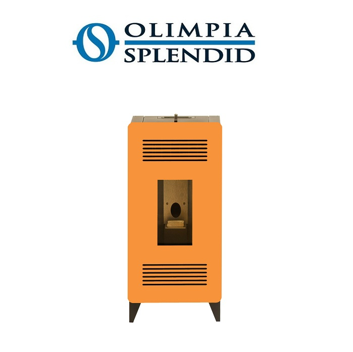 Stufa a pellet olimpia splendid mia stile 11 kw 140 mq for Olimpia splendid caldorad 11