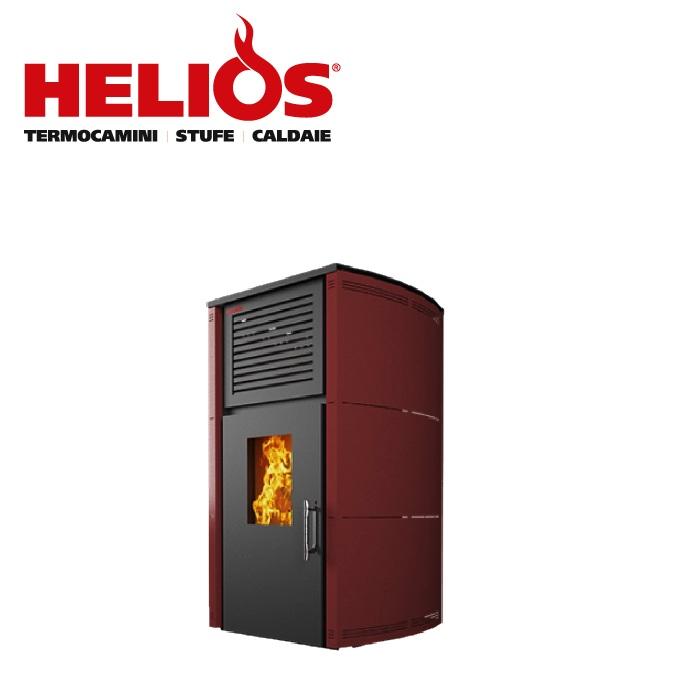 Camini e stufe termostufe multicombustibili for Stufe a pellet helios
