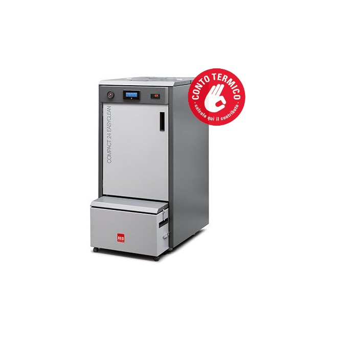 Caldaia red 365 energy modello compact easy clean 24 kw for Caldaia red compact 24