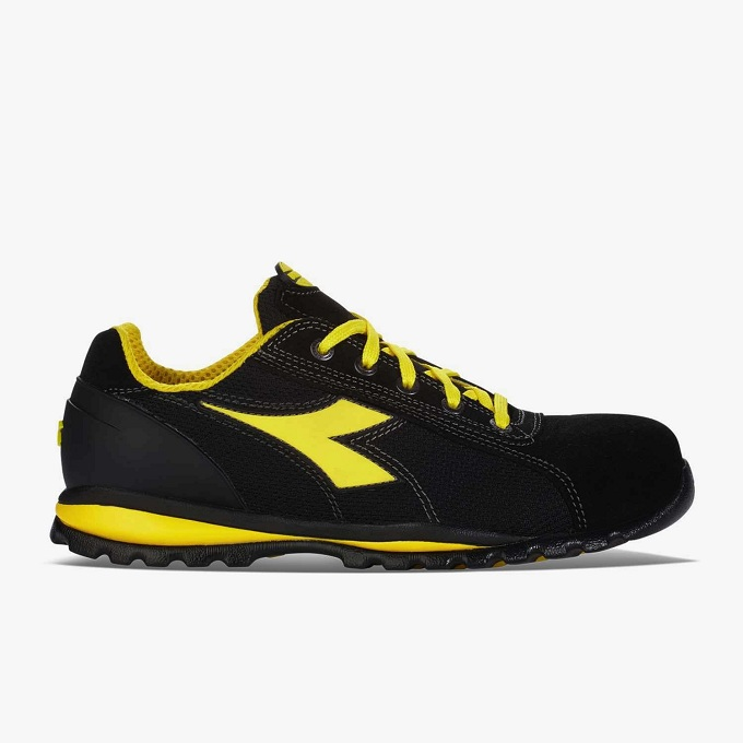 SCARPE ANTIFORTUNISTICA DIADORA UTILITY GLOVE II TEXT S1P HRO SRA - COLORE NERO cod. 701,170236