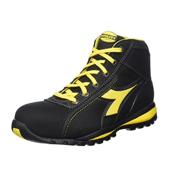 SCARPE ANTIFORTUNISTICA DIADORA UTILITY GLOVE II HIGH S3 HRO SRA - COLORE NERO  cod. 701.170234