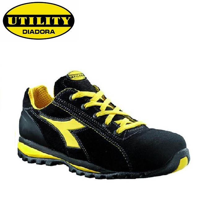 SCARPE ANTIFORTUNISTICA DIADORA UTILITY GLOVE II LOW S1P HRO SRA - COLORE NERO cod. 701,170683