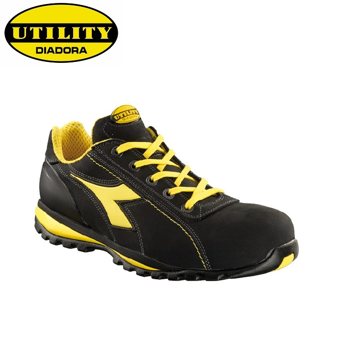 SCARPE ANTIFORTUNISTICA DIADORA UTILITY GLOVE II LOW S3 HRO SRA - COLORE NERO cod. 701,170235