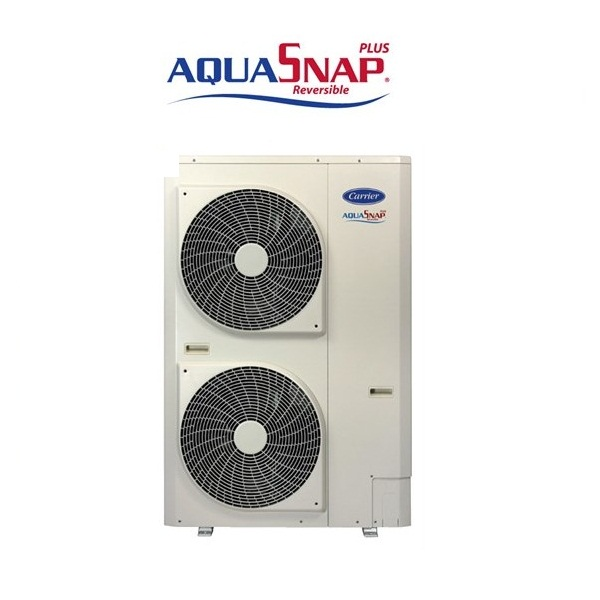 POMPA DI CALORE REFRIGERATORE MINI CHILLER CARRIER AQUASNAP PLUS INVERTER 15 KW 30AWH015HD